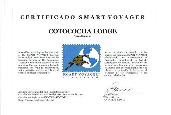Cotococha Lodge - Ecuador Amazon Lodge - Smart Voyager